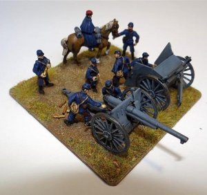 WWI French Artillery Crew  (Vista 3)