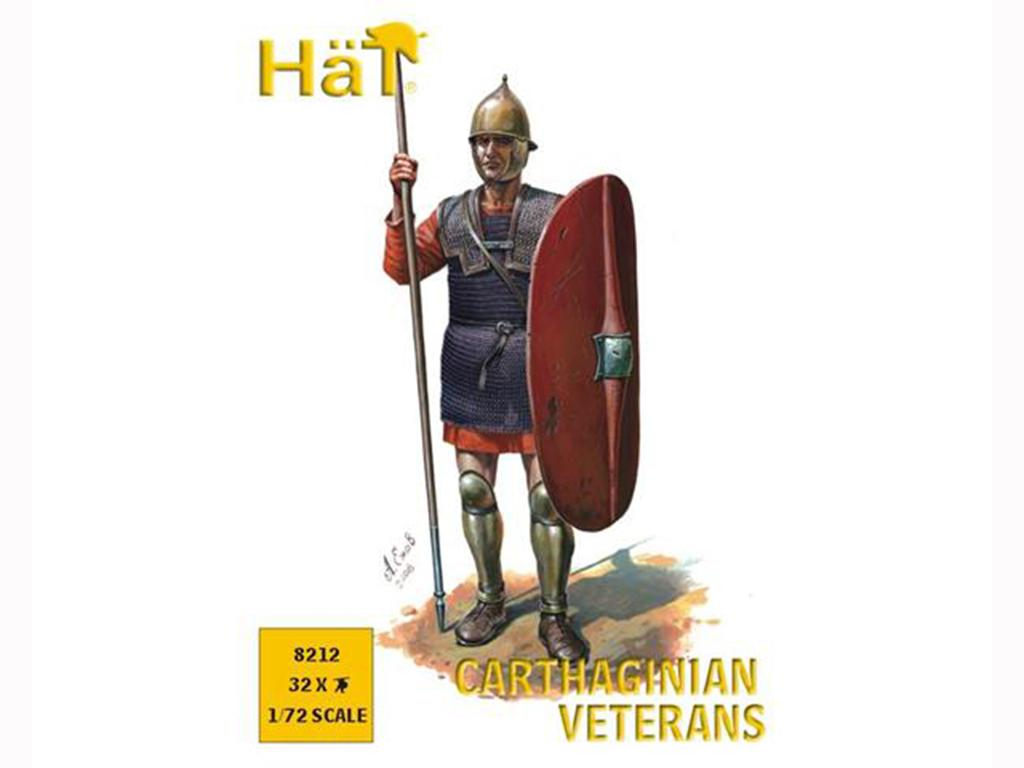 Carthaginian Veteran Spearmen  (Vista 1)