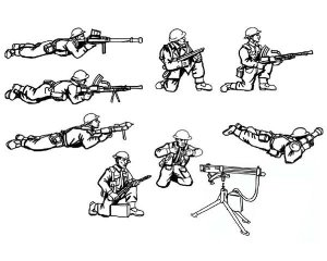 British Machine Gun Team  (Vista 2)