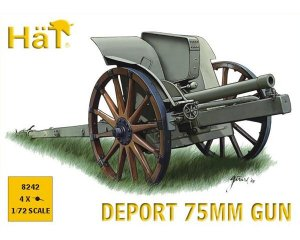 WWI Italian 75mm Deport Gun  (Vista 1)