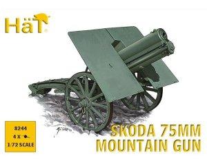 WWI Skoda 75mm Mtn Gun   (Vista 1)