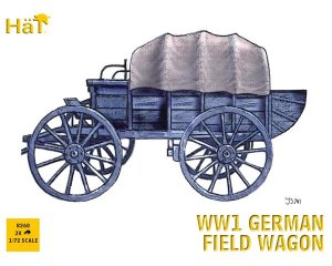 WWI German Field Wagon  (Vista 1)