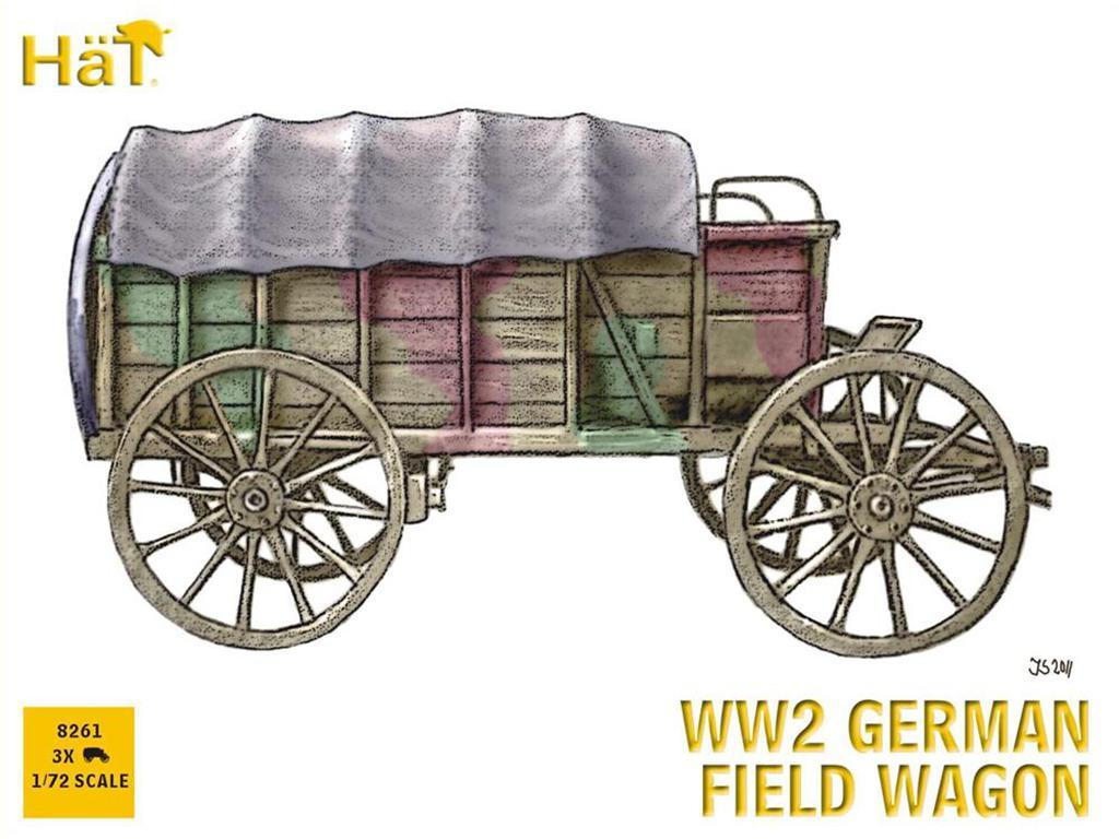 WW2 German Field Wagon  (Vista 1)