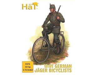 Alemanes en bicicleta WWI  (Vista 1)