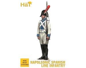 Napoleonic Spanish Line Infantry  (Vista 1)
