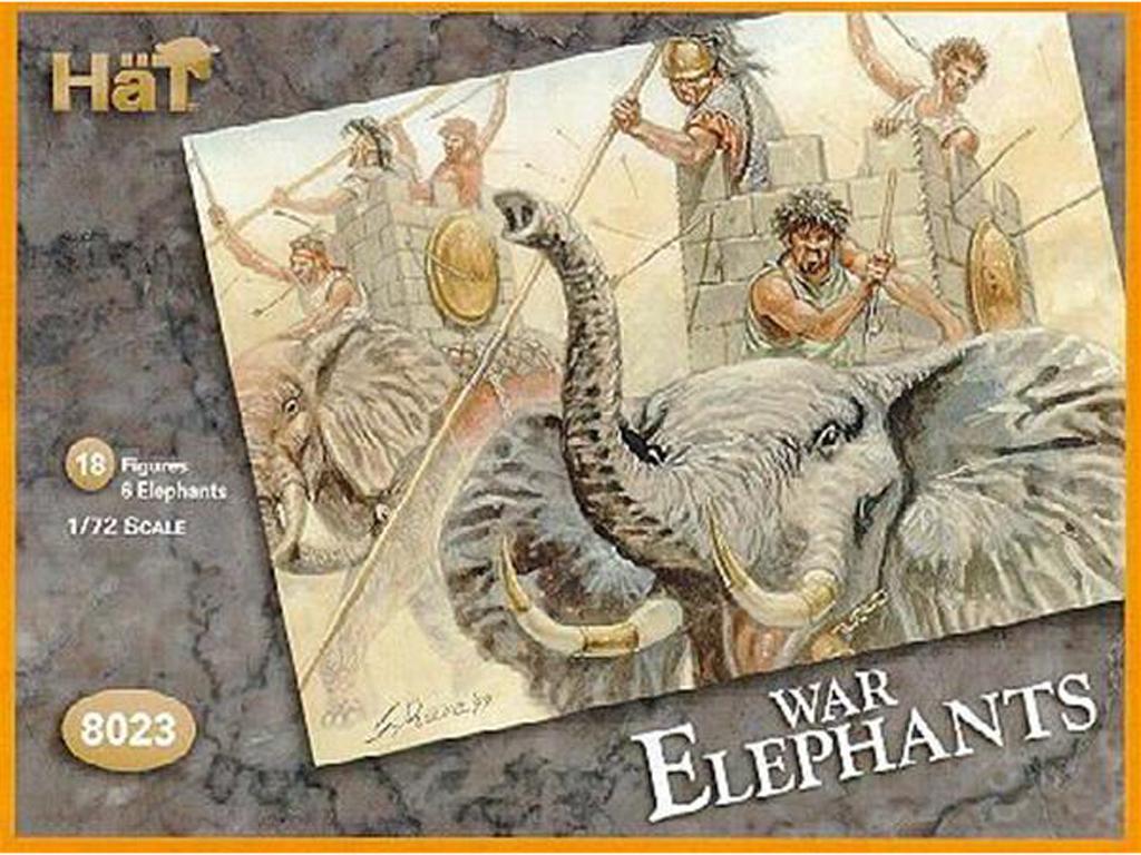 Elefantes de Guerra (Vista 1)