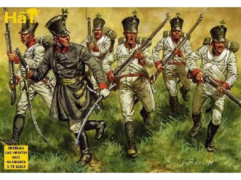 Infanteria de Linea Austriaca 1806 (Vista 1)