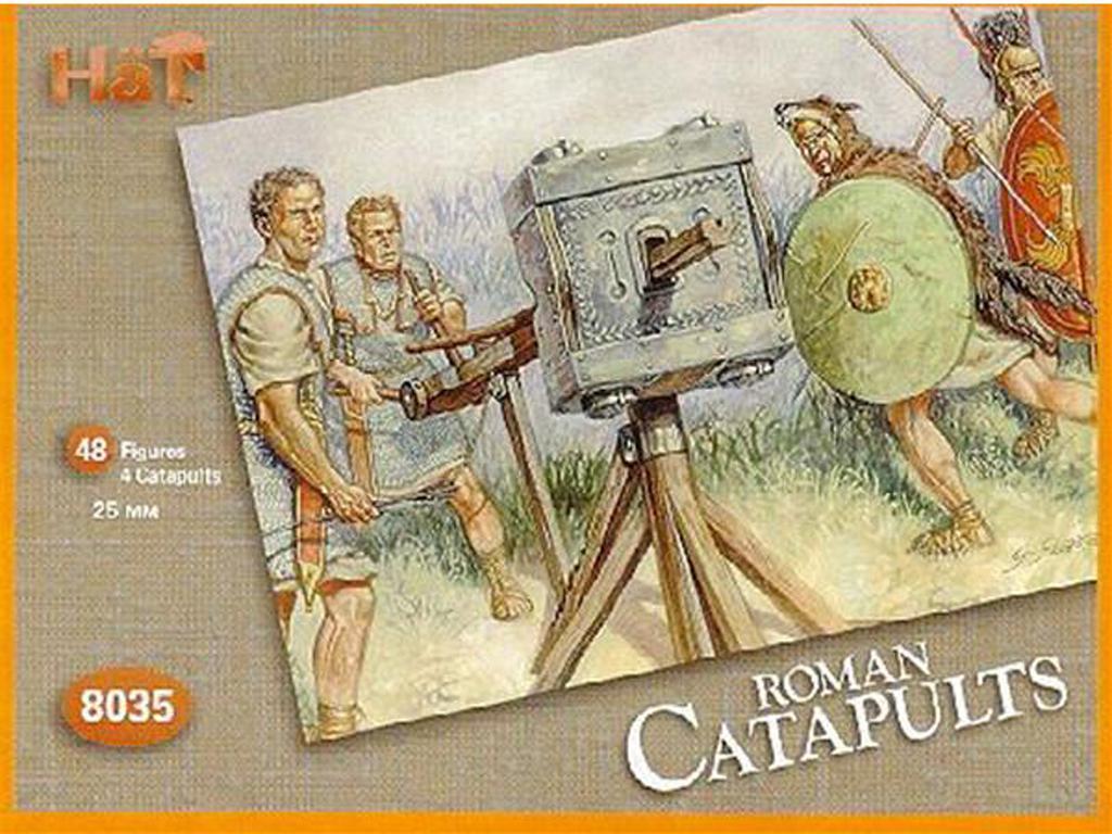 Legiones Romanas : Catapultas (Vista 1)