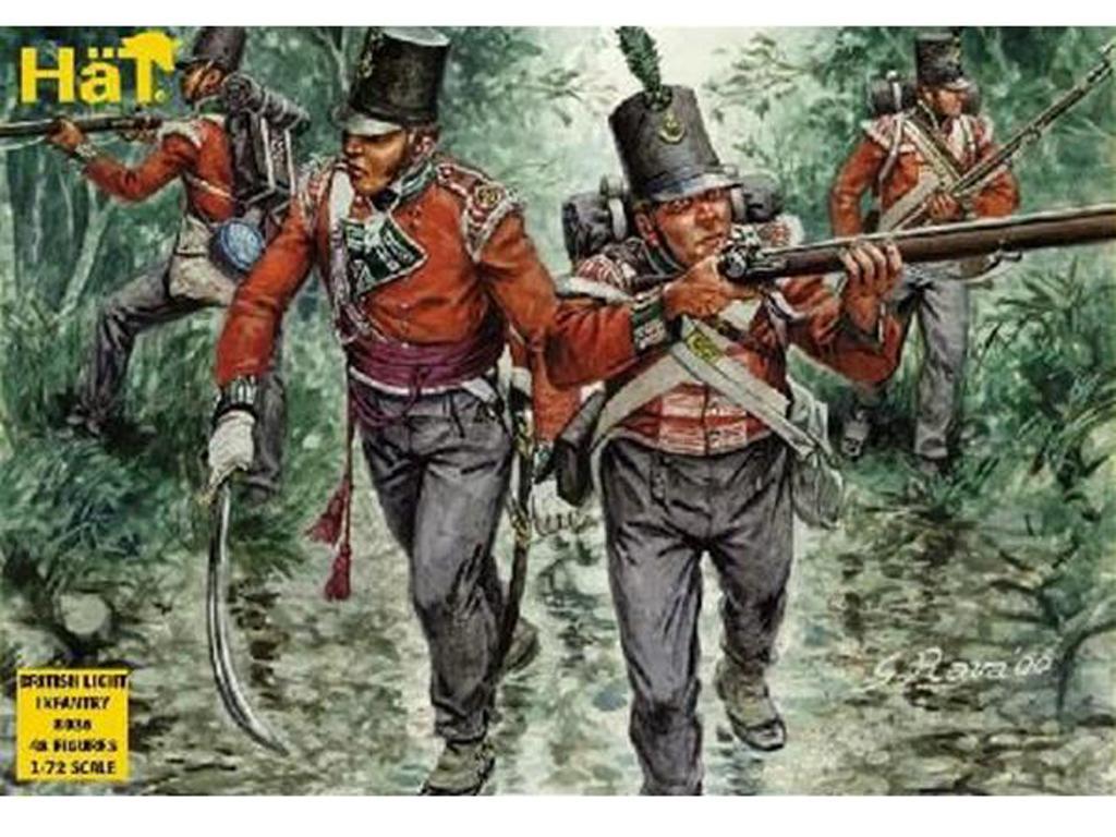 Infanteria Ligera Inglesa. 1814 (Vista 1)