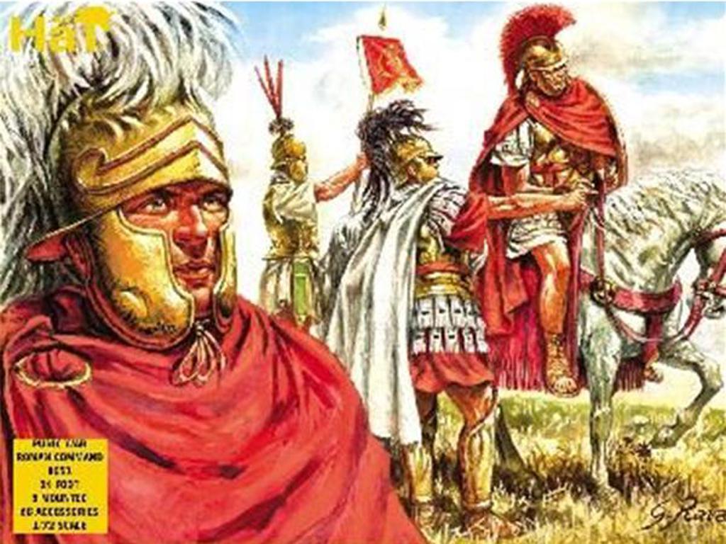 Legiones Romanas : Mando de la Republica (Vista 1)