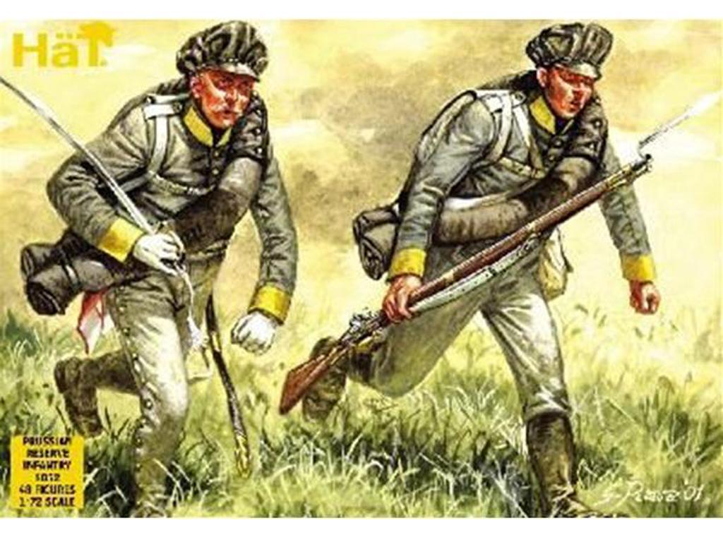 Infanteria de Linea Prusiana : Regimient (Vista 1)