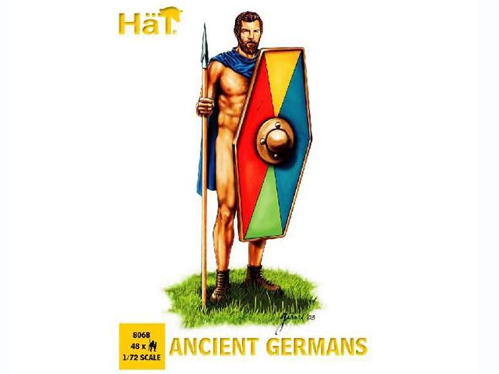 Guerreros Germanicos (Vista 1)