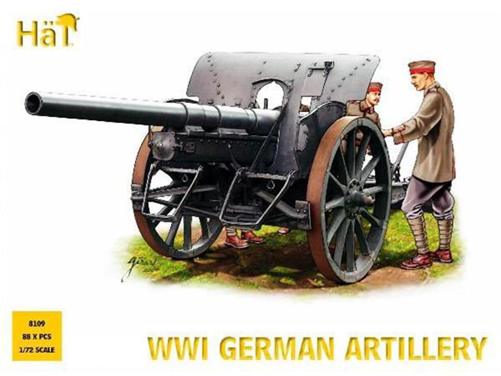 Artilleria Alemana 1914-1918 (Vista 1)