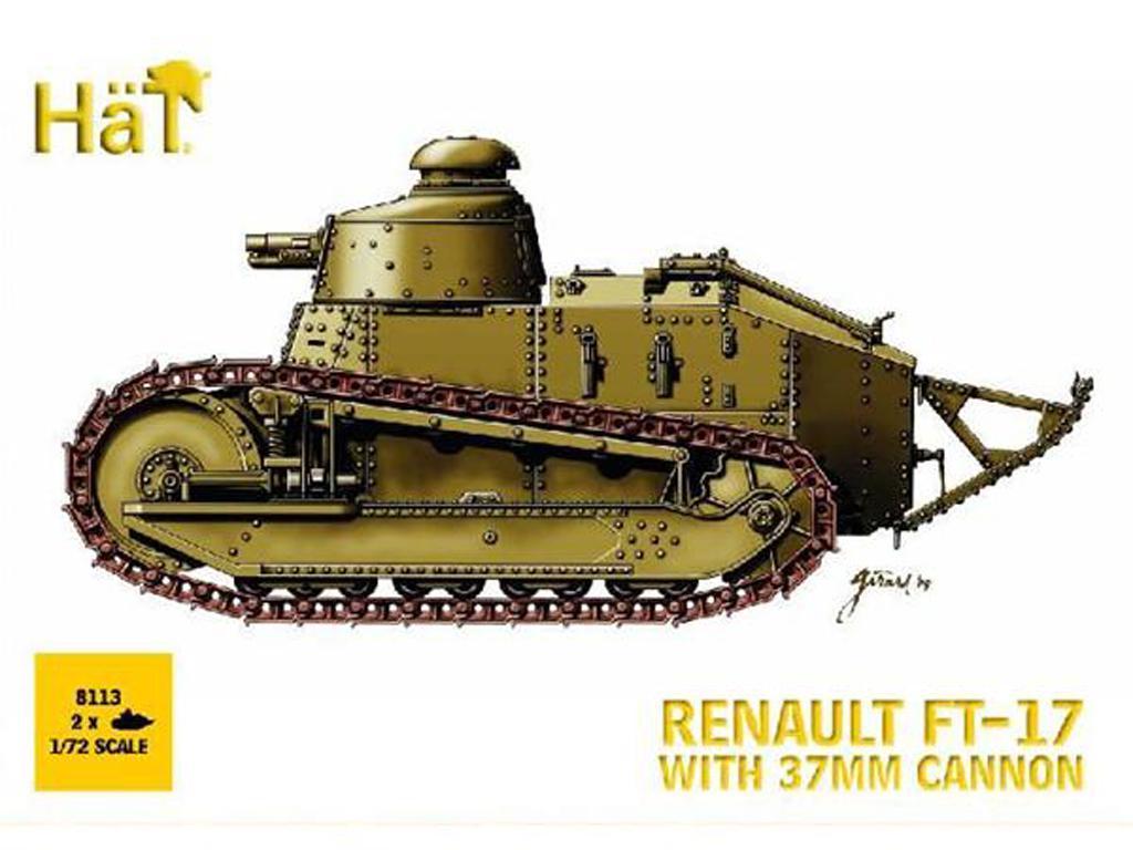 FT-17 con Cañon 37 mm (x2) (Vista 1)