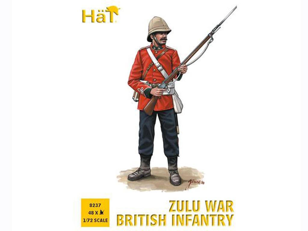 Guerra Zulú Infantería Británica (Vista 1)