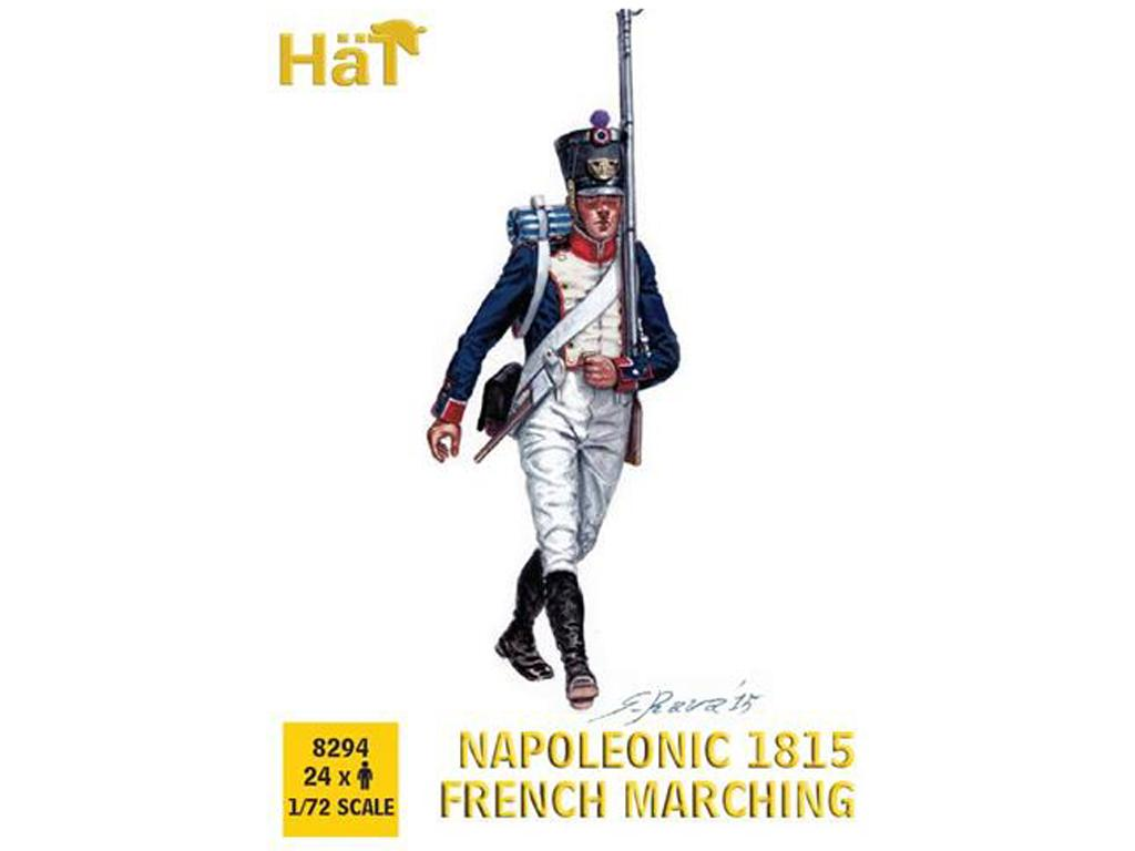 Franceses Marchando 1815 (Vista 1)