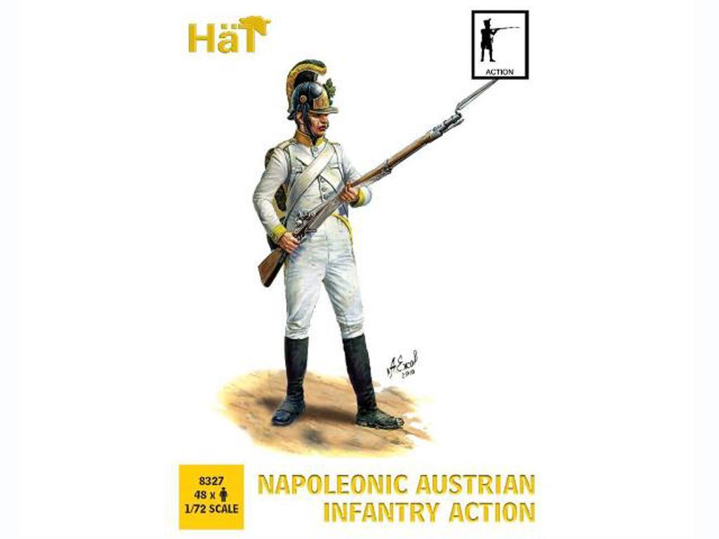Infantería Austriaca Napoleónica (Vista 1)