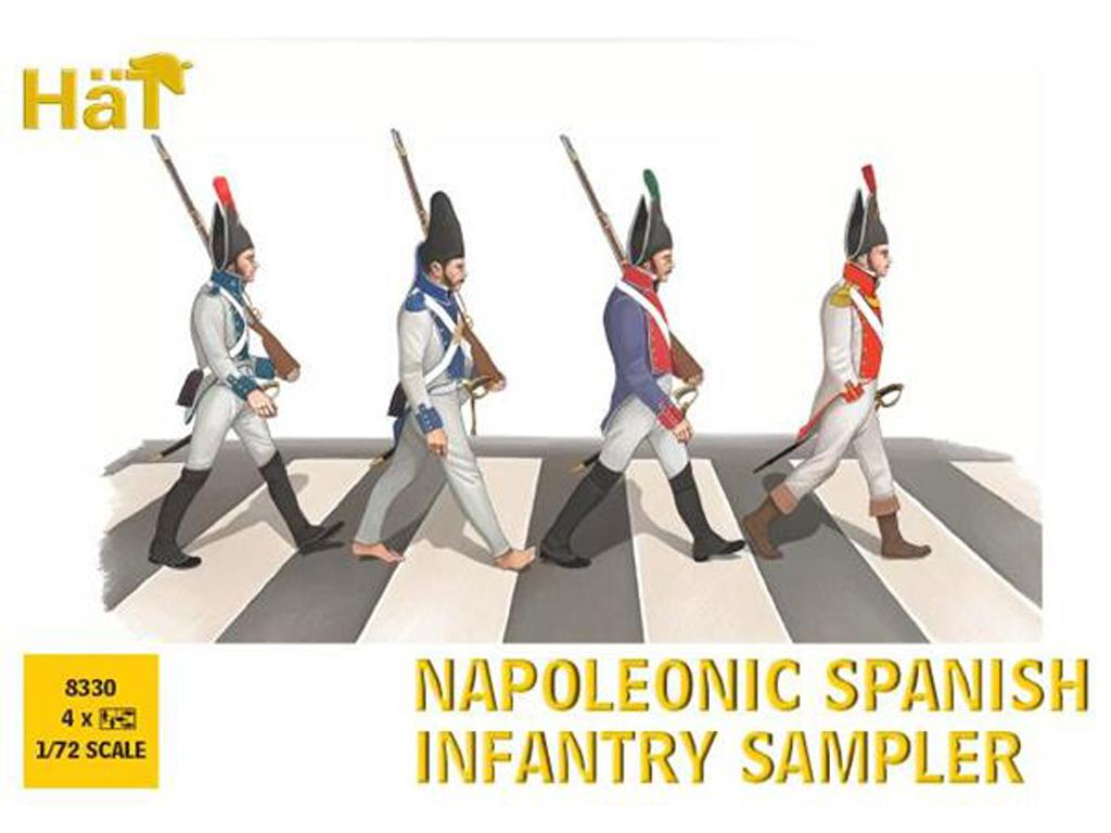 Intantería Española Napoleónica (Vista 1)