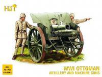 Artilleria y ametralladoras Otomanas 191 (Vista 2)