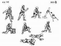 Equipo de morteros Británico (Vista 4)