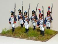 Franceses Marchando 1815 (Vista 4)