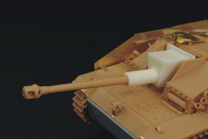 Stug III Ausf.G welded gun shield  (Vista 1)