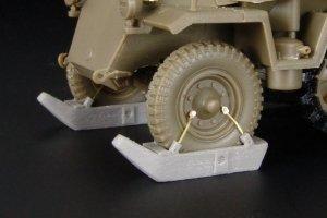 Sd.Kfz.250-251 front wheels SKI  (Vista 1)