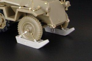 Sd.Kfz.250-251 front wheels SKI  (Vista 2)
