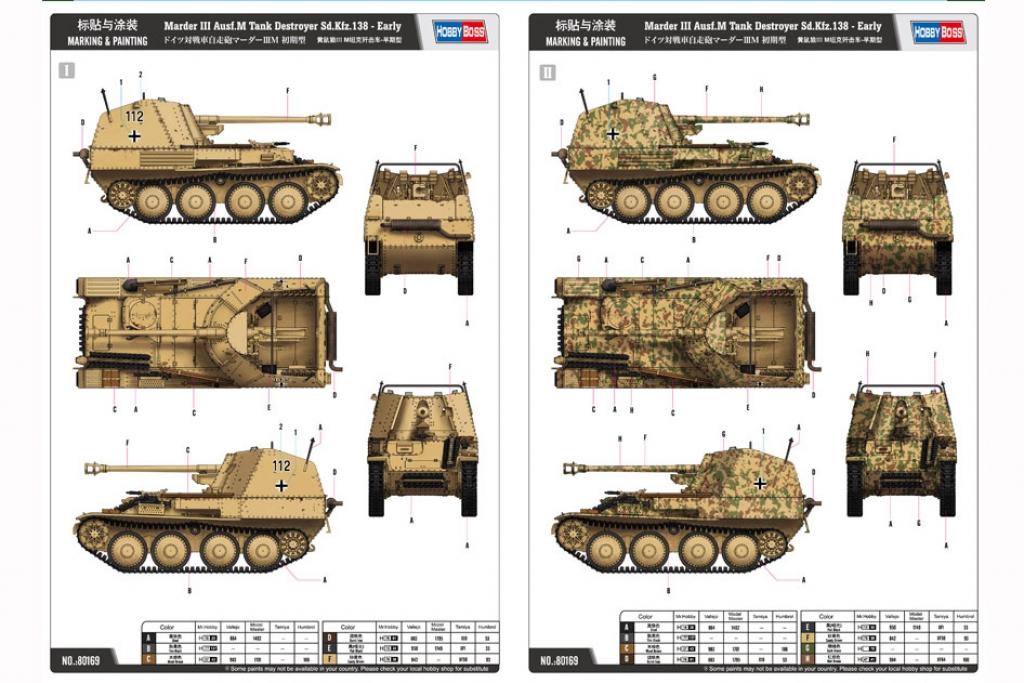 Marder III Ausf.M Tank Destroyer Sd.Kfz.  (Vista 2)