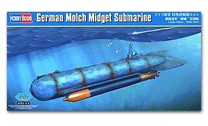 Submarino alemán de bolsillo Molch  (Vista 1)