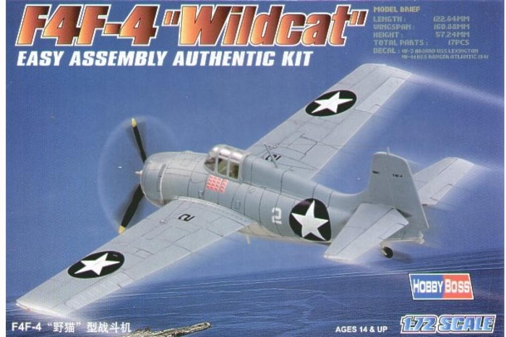 """F4F-4 """"Wildcat""""  (Vista 1)"""