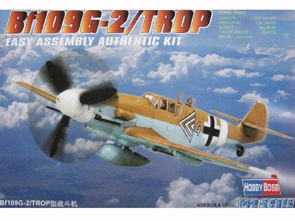 Bf109G-2/TROP  (Vista 1)