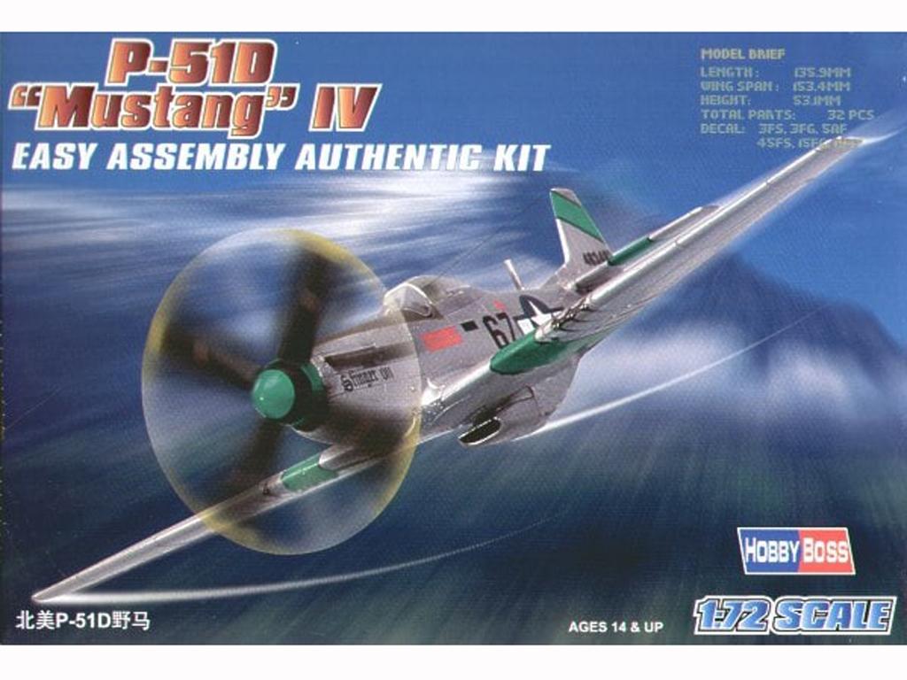 "P-51D ""Mustang"" IV  (Vista 1)"