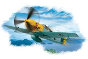Bf109E-3  (Vista 1)