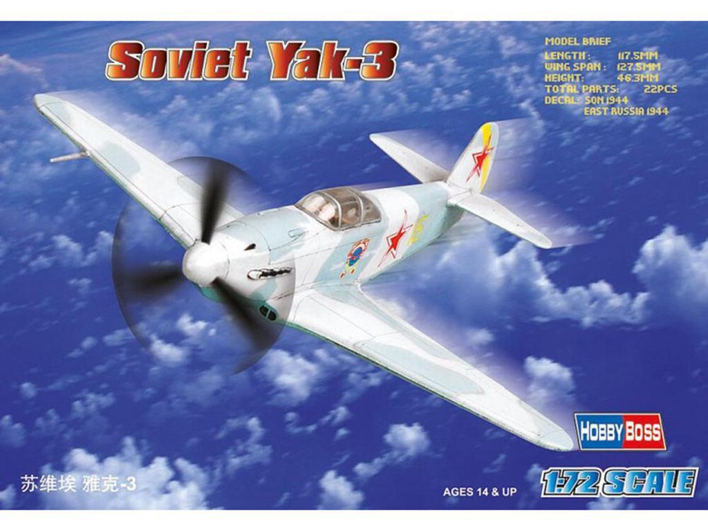Soviet Yak-3  (Vista 1)