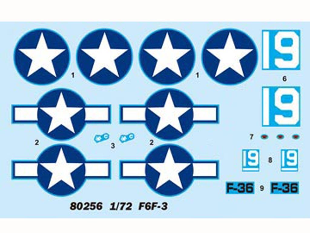 """F6F-3 """"Hellcat""""   (Vista 2)"""