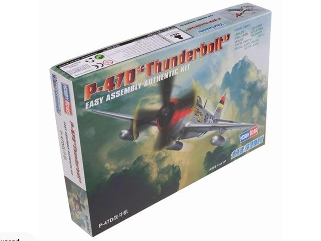 "P-47D ""Thunderbolt"" - Ref.: HBOS-80257"