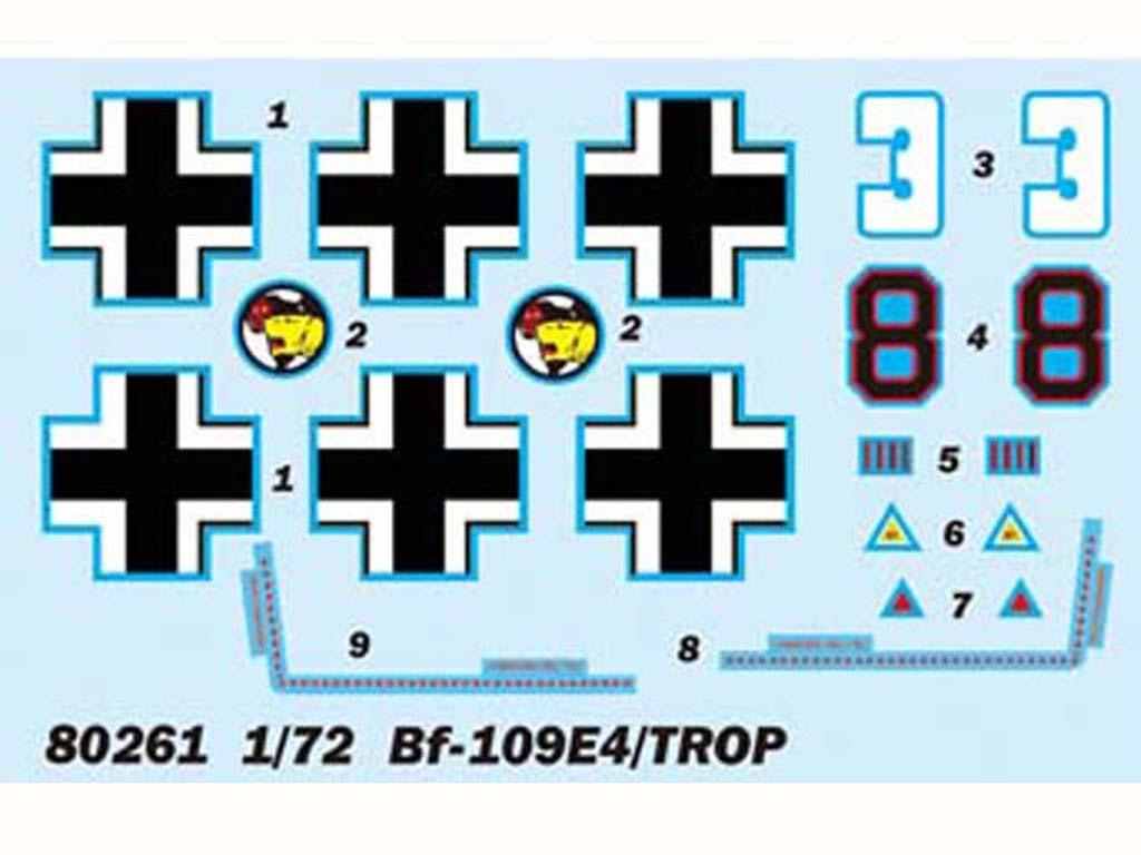 BF-109E4/TROP  (Vista 2)