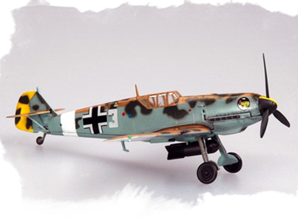 BF-109E4/TROP  (Vista 6)