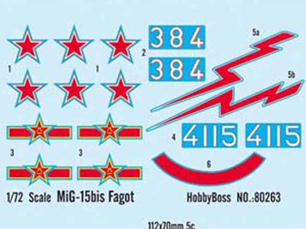 MiG-15bis Fagot  (Vista 2)
