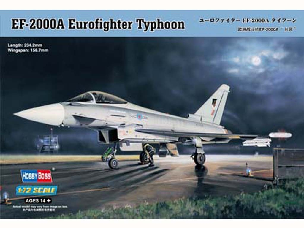 EF-2000 Eurofighter Typhoon  (Vista 1)