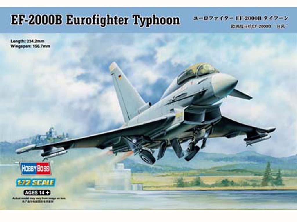 EF-2000B Eurofighter Typhoon  (Vista 1)