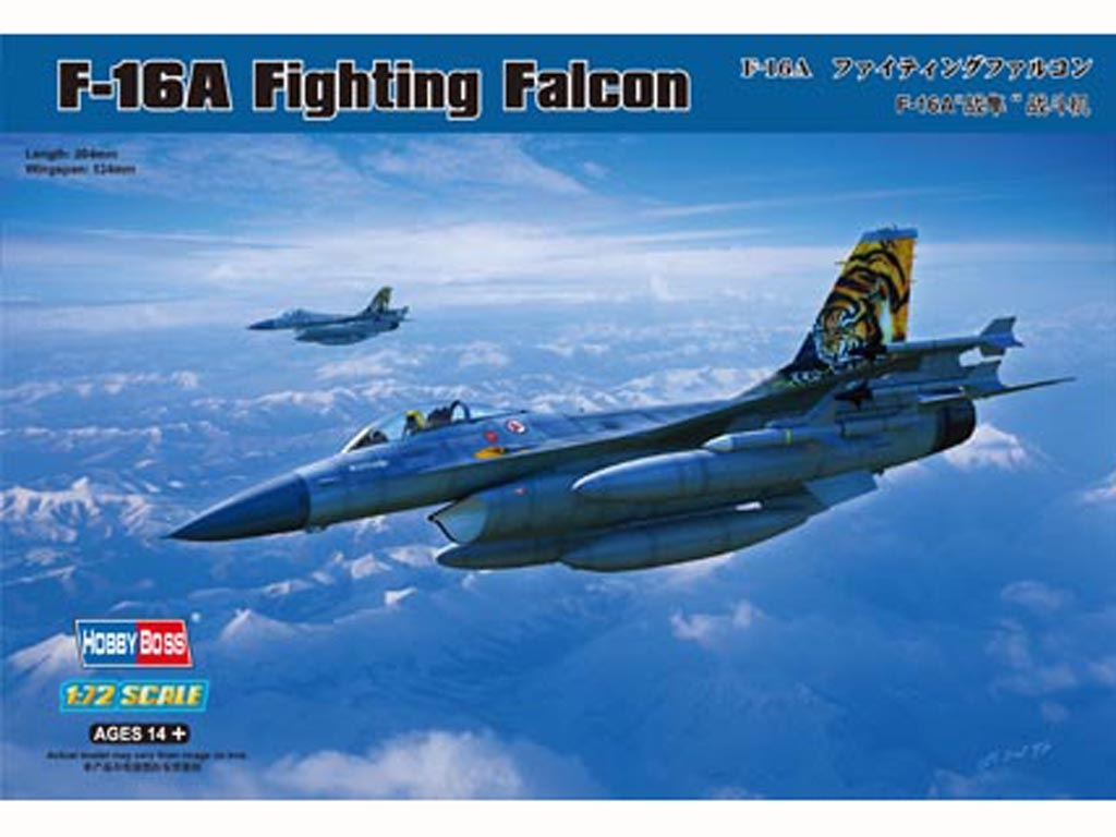 F-16A Fighting Falcon  (Vista 1)