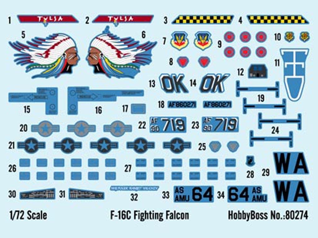 F-16C Fighting Falcon  (Vista 2)