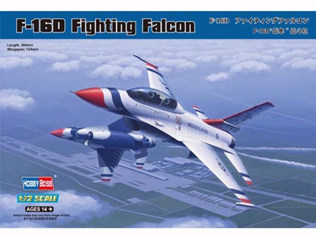 F-16D Fighting Falcon  (Vista 1)
