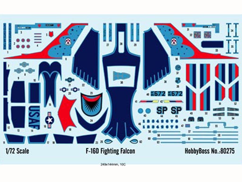 F-16D Fighting Falcon  (Vista 2)