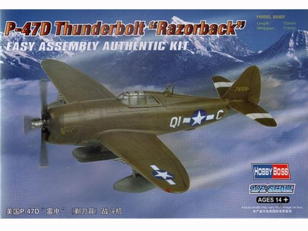 P-47D Thunderbolt Razorback  (Vista 1)