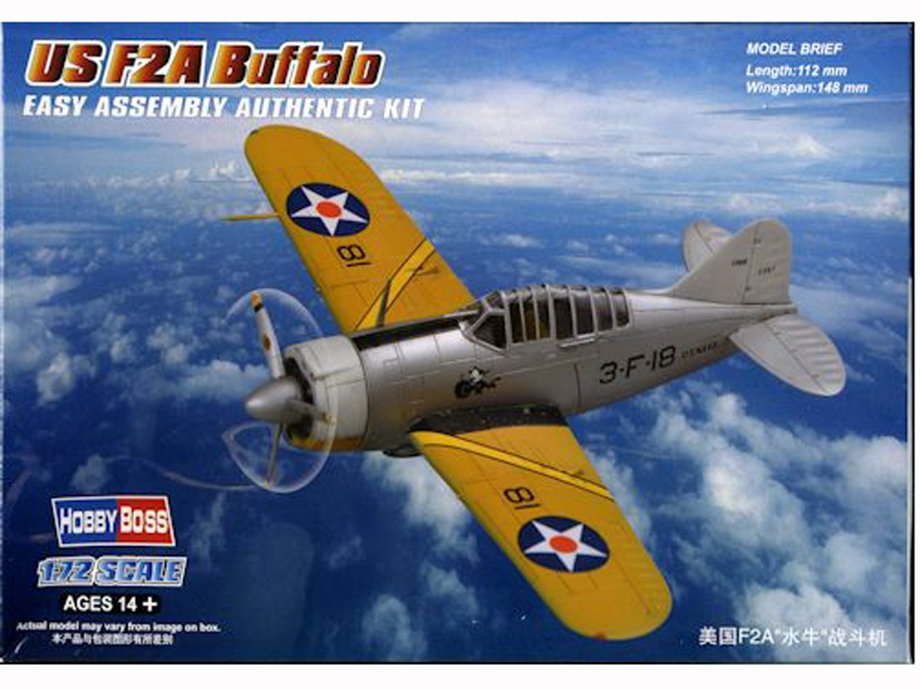 F2A Buffalo  (Vista 1)
