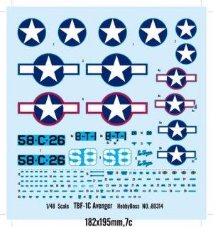 TBF-1C Avenger  (Vista 2)