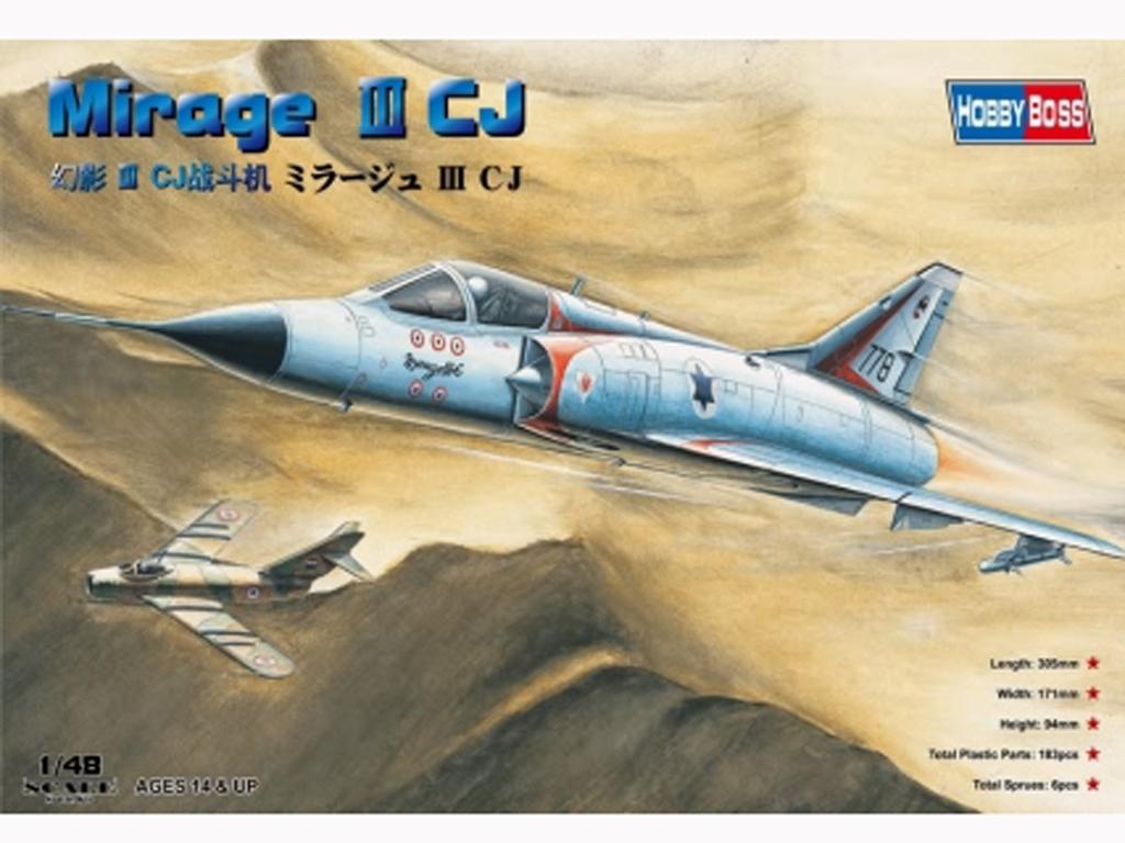 Mirage IIICJ Fighter  (Vista 1)